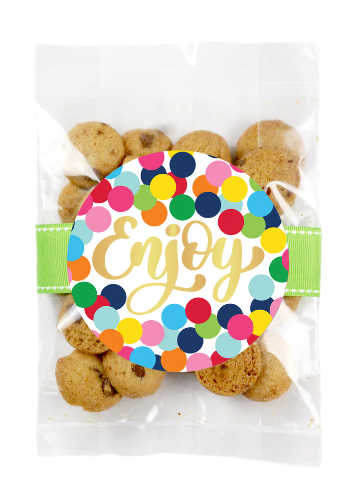 Chocolate Chip - Colorful Dots Enjoy