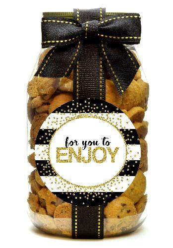 Chocolate Chip - Gold Confetti Enjoy
