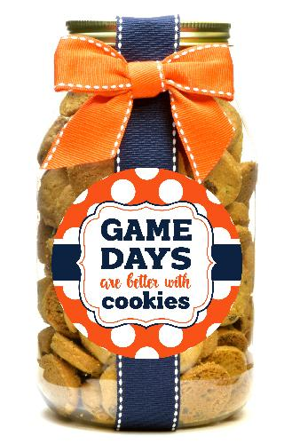 Chocolate Chip - Auburn Tigers