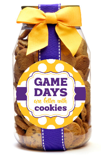 Chocolate Chip - LSU Tigers