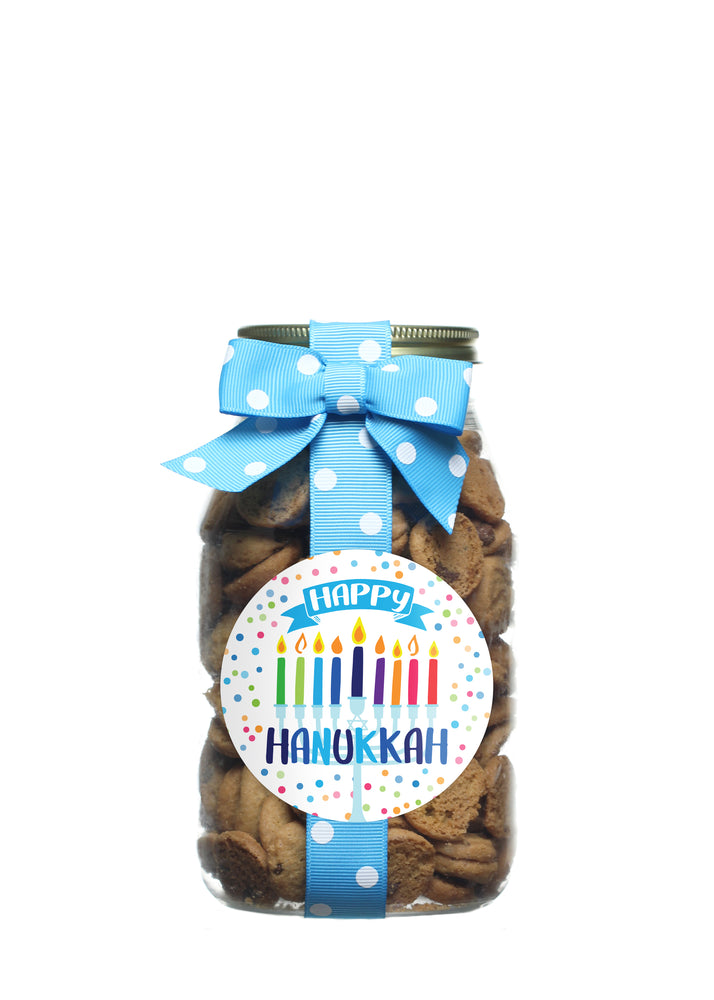 Chocolate Chip - Happy Hanukkah - Colorful