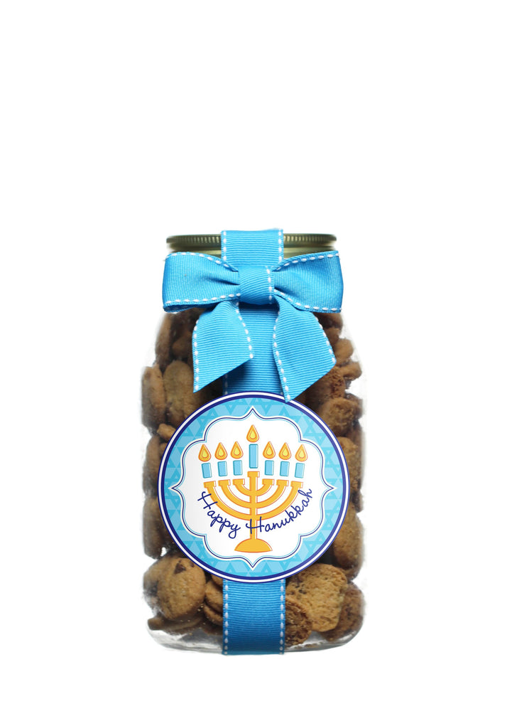 Chocolate Chip - Happy Hanukkah - Simple