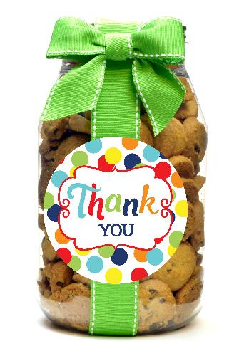 Chocolate Chip - Polka Dot Thank You