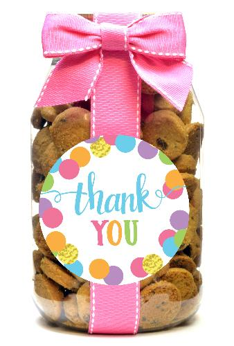 Chocolate Chip - Script Letter Thank You