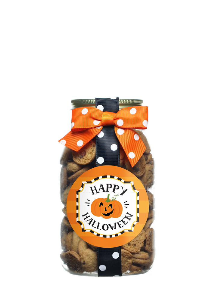 Chocolate Chip - Smiling Pumpkin Halloween