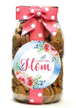 Chocolate Chip - Blue Bouquet Mom