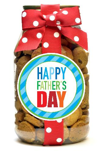 Chocolate Chip - Blue Stripe Father's Day