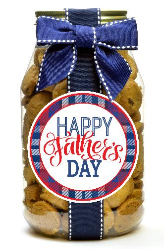 Chocolate Chip - Father's Day Plaid Stripe