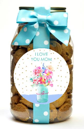 Chocolate Chip - I Love You Mom Floral