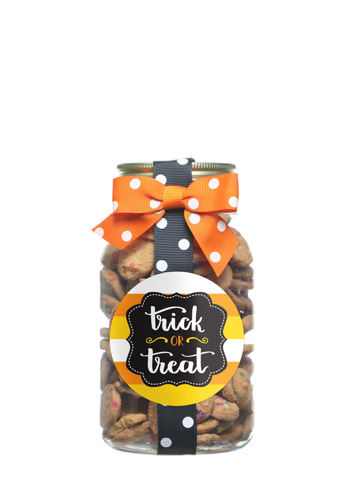 Confetti Cupcake - Trick or Treat Candy Corn