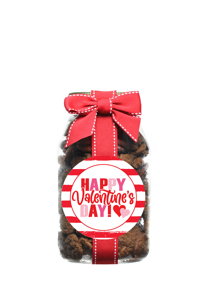Brownie Crisp - Valentine's Day Stripes