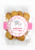Whipped Butter - Welcome Baby Girl Pink Elephant