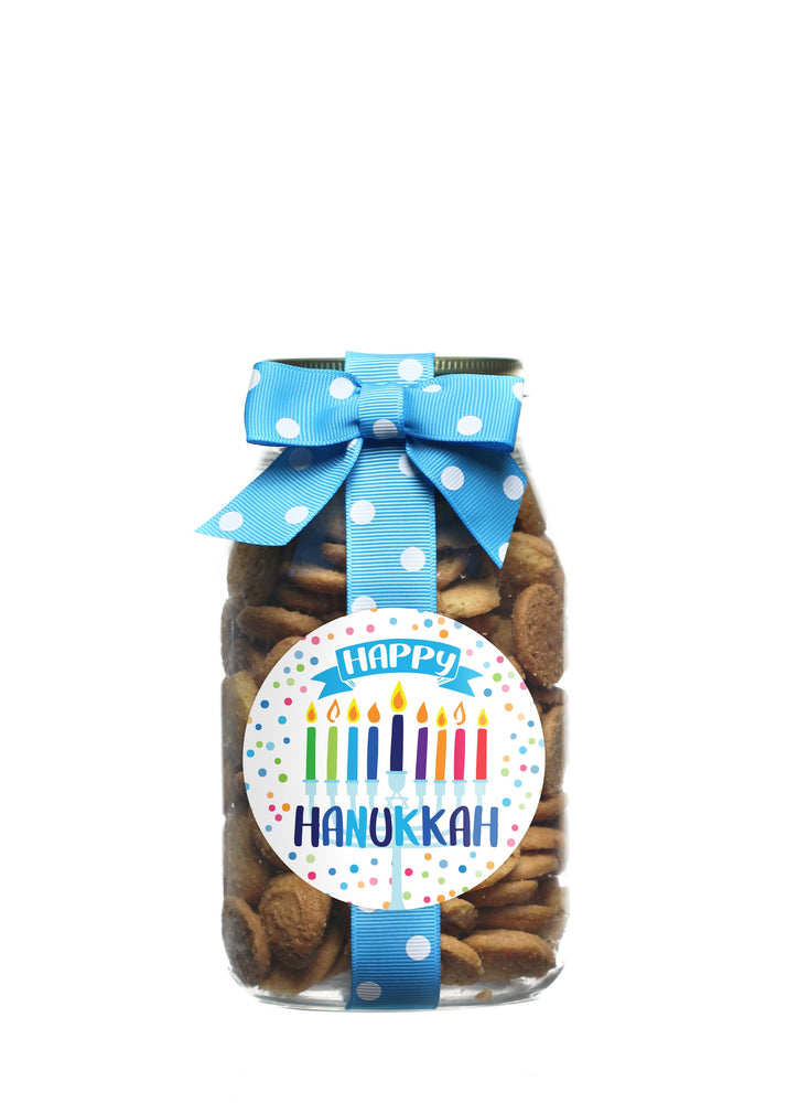 Whipped Butter - Happy Hanukkah- Colorful