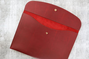 Document Wallet - Cherry