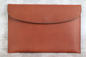 Document Wallet - Golden Brown