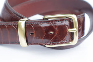 Belt - Ostrich Leather
