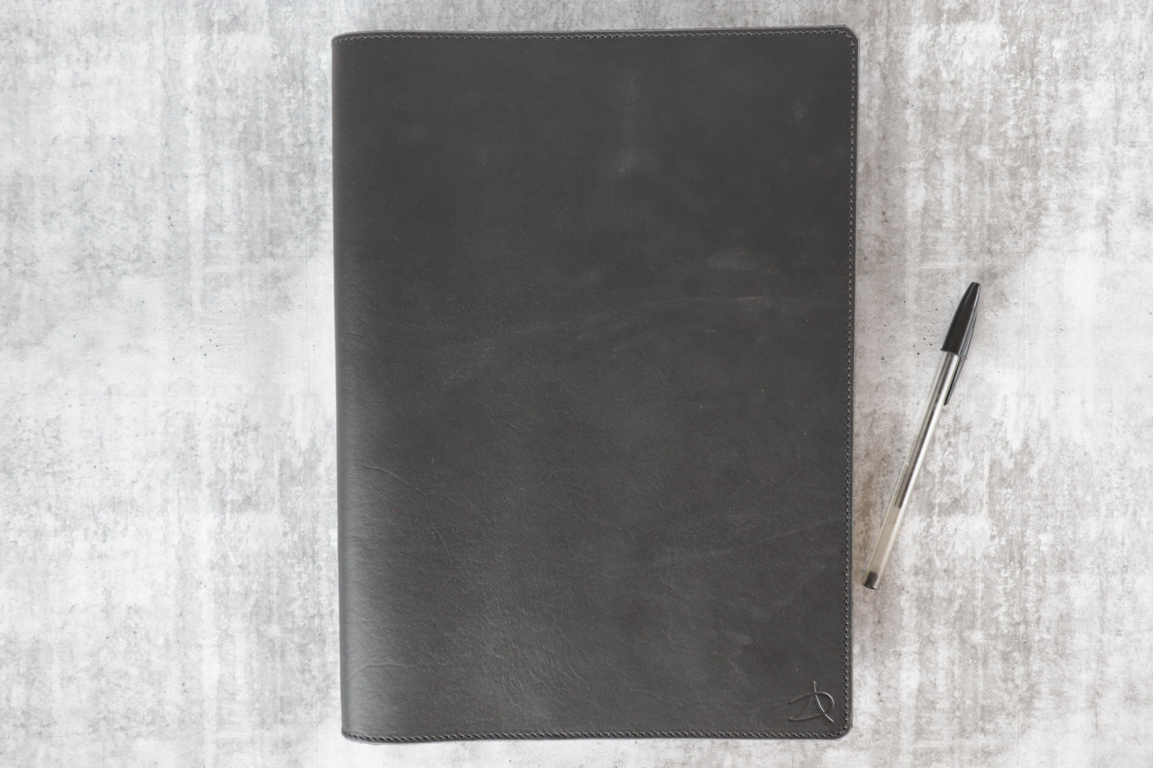 A4 Notebook Cover - Black