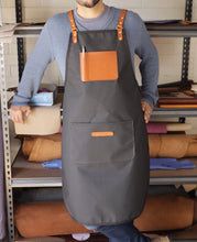 Load image into Gallery viewer, Apron - Black and Tan