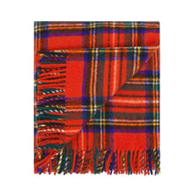 Load image into Gallery viewer, Travel Blanket - Royal Stewart with Carrier