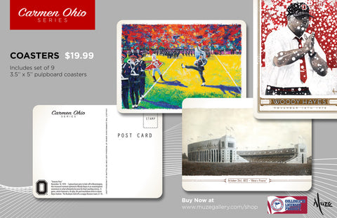 NEW Carmen Ohio Series Coasters
