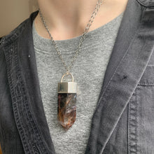 Load image into Gallery viewer, Dragon Quartz Crystal Talisman