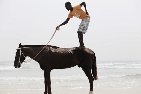 Nana Yaw Oduro picture of a man on a horse