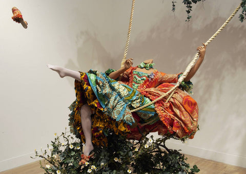 The Swing (after Fragonard), Yinka Shonibaré (2001)