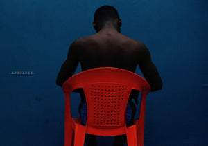 Behind my back by Nana Yaw Oduro. Young Ghanaian photographer born in 1995 in Accra. His local environment inspires him to create.