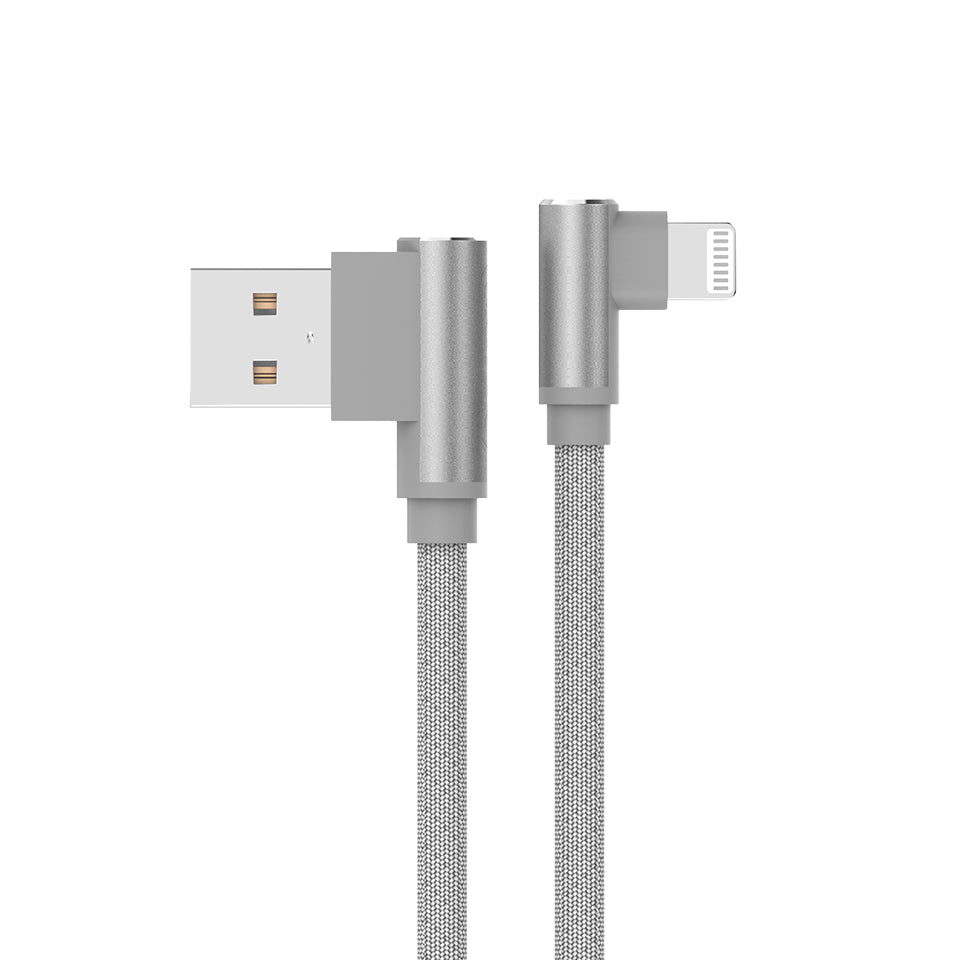 Aluminum L-Shape USB to Lightning Cable