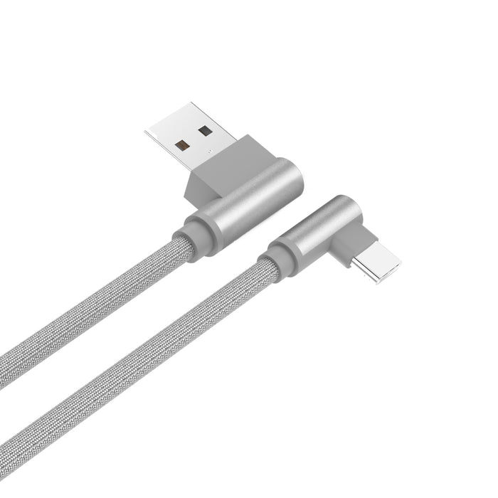 L Shape USB A to USB C Cable