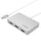 USB 3.1 Type-C Hub with Power Delivery (HDMI + 2-Port USB Type-A + 1-Port USB Type-C)