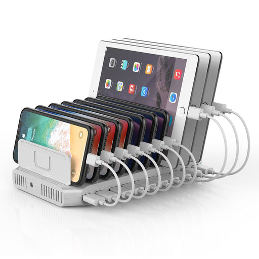 USB Charging Station 10 Port QC 2.0 60W