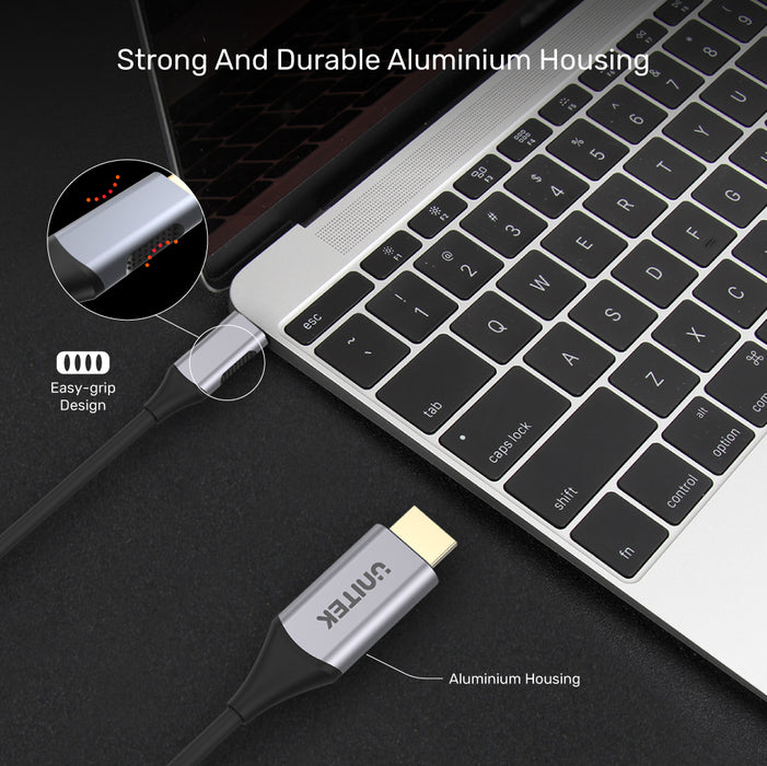 4K 60Hz USB-C to HDMI 2.0 Cable