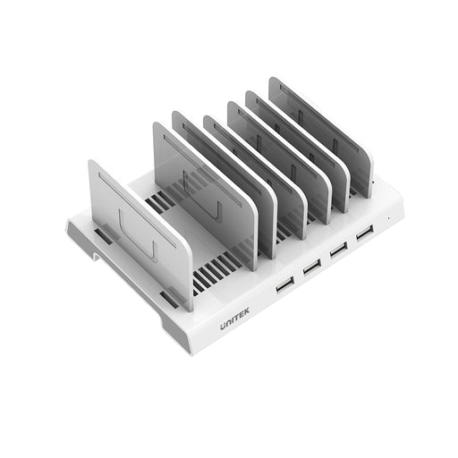 36W 4-Port USB Smart Charging Station