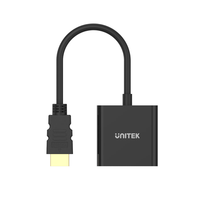 HDMI to VGA Adapter with 3.5mm for Stereo Audio