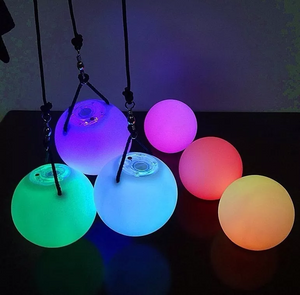 [Save 20$]Beginner LED Glow Poi : 9-Mode (a pair)