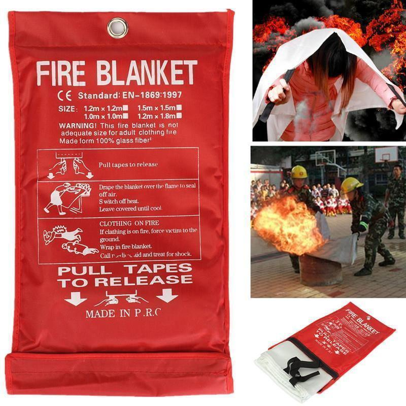 FIRE EMERGENCY - Life Saving Blanket