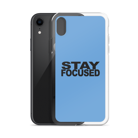 STAYFOCUSED Blue Edition iPhone Case