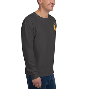 Sweatshirt: Logo Only Orange