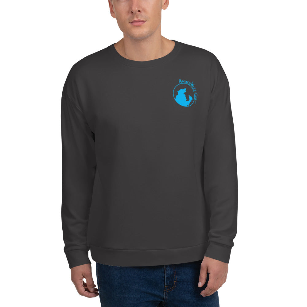 Sweatshirt: Logo Only Blue