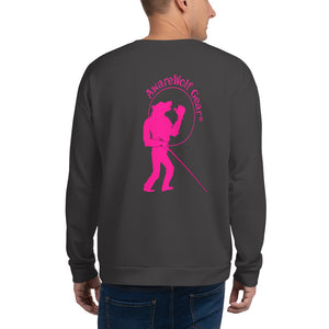 Sweatshirt: Logo Only Pink