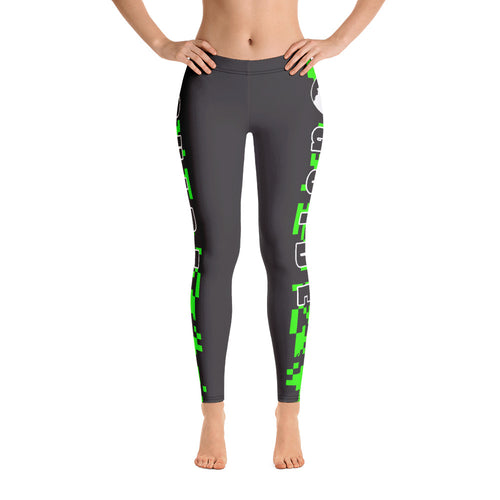 Guide Leggings: Camo Green