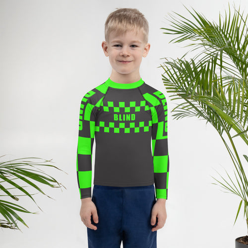 Kids INDY Rash Guard: Mark 1