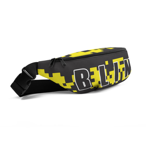 Fanny Pack: Camo Yellow