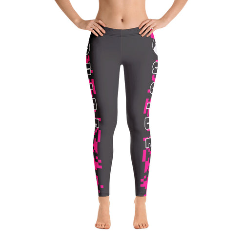 Guide Leggings: Camo Pink