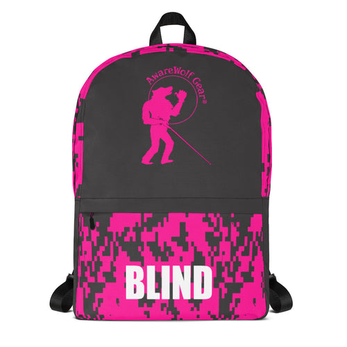 Backpack: Camo Pink