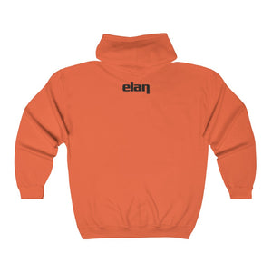 ELAN Unisex Heavy Blend™ Full Zip Hooded Sweatshirt