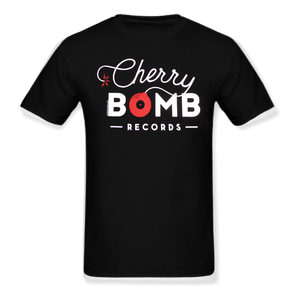 Cherry Bomb Records Black Logo Tee
