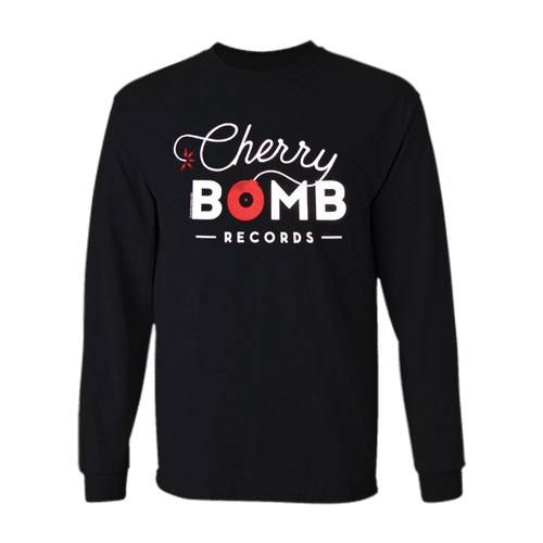 Cherry Bomb Records Black Logo Long Sleeve