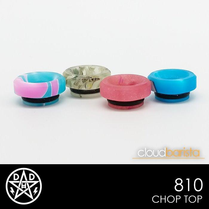 Chop Top - 810 Drip Tips Double Helix Designs